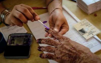 Voting Percentage Phase 7 Lok Sabha Election 2019 Updates: At 5 pm, overall voter turnout stands at 52.62%