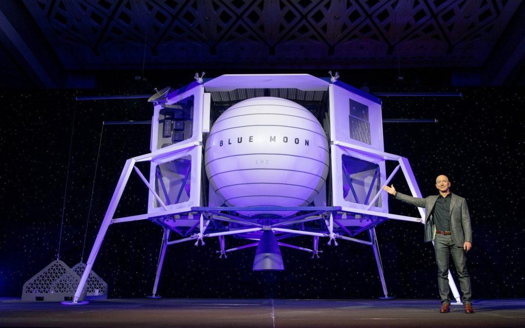 Jeff Bezos Builds a Moon Ship – Yahoo Finance