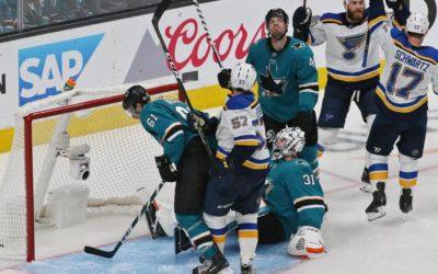 BenFred: Best game of Blues' season has Sharks thrashing in shallow end – STLtoday.com