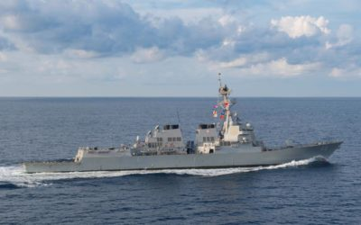 U.S. warship sails in disputed South China Sea amid trade tensions – Reuters
