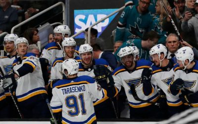 Blues move to brink of Cup final with 5-0 win over Sharks – Fox News