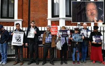 US investigators to be handed Julian Assange's belongings from Ecuadorean embassy, Wikileaks say – Daily Mail