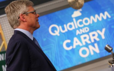 Stocks making the biggest moves midday: Qualcomm, Sprint, Tesla, Del Frisco's & more – CNBC