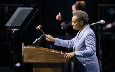 Lori Lightfoot Is Inaugurated, Vowing End to 'Kiss a Ring' Chicago Politics