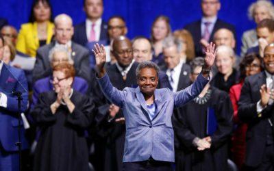 Lori Lightfoot sworn in as Chicago's first LGBTQ, black woman mayor – NBC News