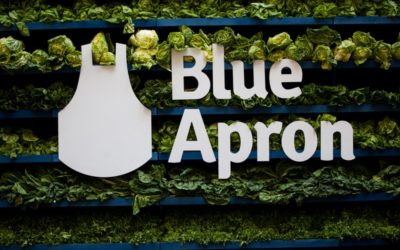 Its stock in crisis, Blue Apron breaks the emergency glass – Crain's New York Business