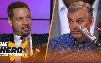 Chris Broussard reacts to Magic's remarks about Pelinka & Lakers, talks KD's future | NBA | THE HERD – The Herd with Colin Cowherd