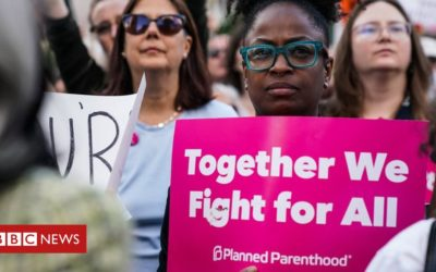 Protests across US against abortion bans