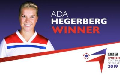 Ada Hegerberg named BBC Women's Footballer of the Year 2019