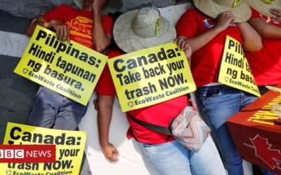 Angry Duterte orders waste shipped back to Canada