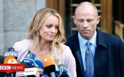 Stormy Daniels ex-lawyer charged with cheating her