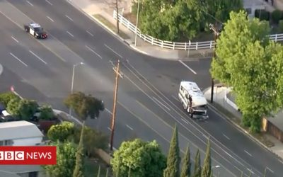 Not your average chase: Stolen motorhome causes chaos