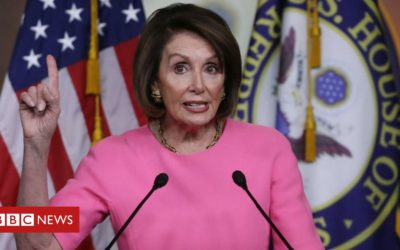 Pelosi calls for family 'intervention' with Trump