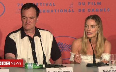 Tarantino 'rejects' Margot Robbie question