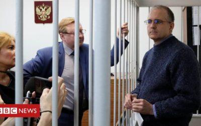 Ex-marine calls Russia spy case 'political kidnap'