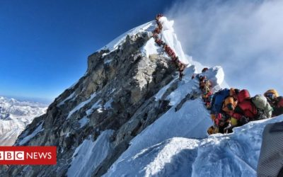 Why Mt Everest's summit gets so crowded
