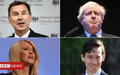 Race to be new prime minister begins