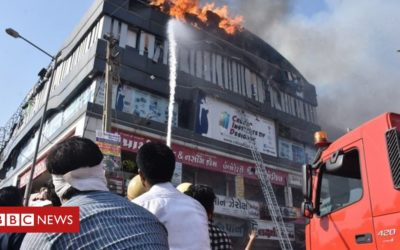 Indian students trapped in tuition centre blaze