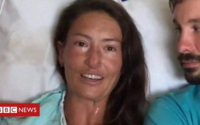 Rescued hiker: 'I chose life'