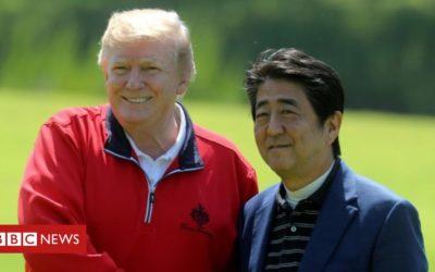 Trump downplays North Korea missile test