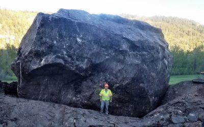 Colorado highway closed 'indefinitely' after massive boulders smash roadway