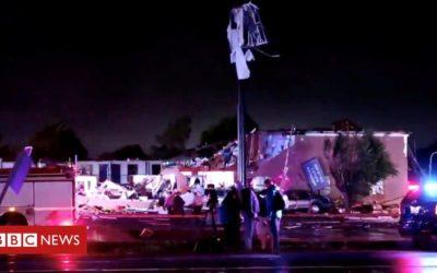 Oklahoma tornado kills two in El Reno