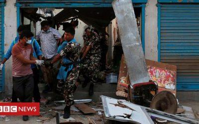 Blasts kill three in Nepali capital Kathmandu