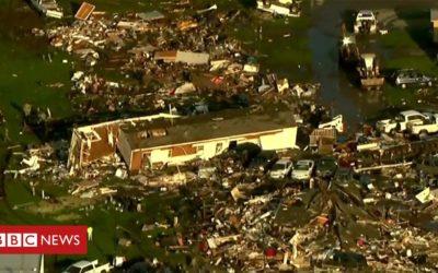 Fatal Oklahoma tornado aftermath