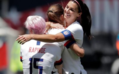 US women's soccer team caps off send-off series with 3-0 win over Mexico