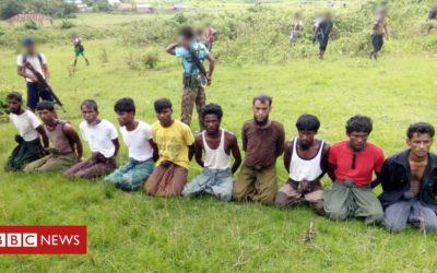 Myanmar massacre soldiers 'released early'