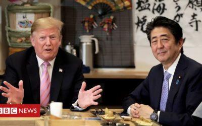 Trump gives 'full support' to Japan-N Korea talks