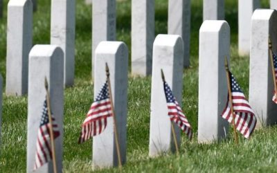 Memorial Day ceremony at Arlington National Cemetery