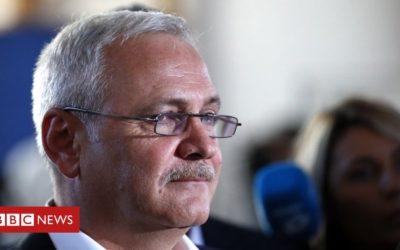 Romania's most powerful politician jailed