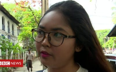 Jailed for a comedy show in Myanmar