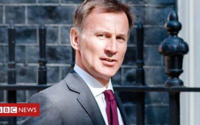 Hunt warns against no-deal Brexit 'suicide'