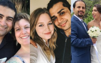 Separated by the travel ban, these couples are taking to video to plead their case – CNN