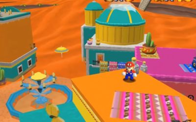 Random: This Is What Super Mario Odyssey's Sand Kingdom Looks Like In Super Mario 64 – Nintendo Life