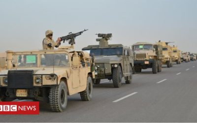 'War crimes' being committed in Sinai – report