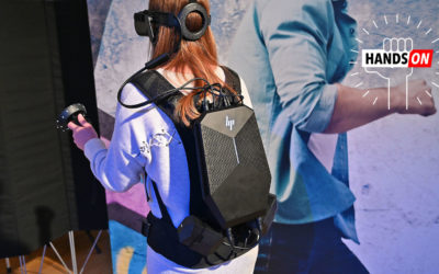 HP's Revamped VR Backpack Delivers the Closest Thing to True VR Freedom Yet – Gizmodo