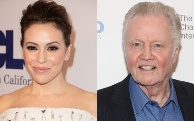 Alyssa Milano slams 'has been' Jon Voight over support of President Trump: 'Stay in your lane'
