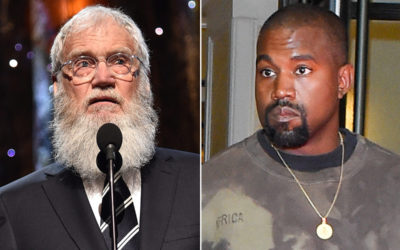 Kanye West styles David Letterman in head-to-toe Yeezy – Page Six