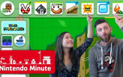 Making Our Super Mario Maker 2 Levels Gameplay – Nintendo Minute – Nintendo