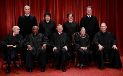 Justices Ginsburg, Thomas trade barbs in Supreme Court ruling on state abortion matter