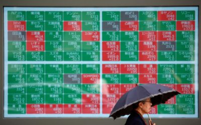 Asian shares falter, bonds rally on global growth fears – Reuters