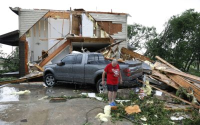 Tornadoes strafe Kansas City area causing some injuries