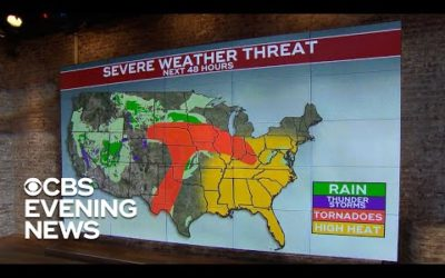 Severe weather brings tornadoes, flooding to Midwest: A.M. News Links