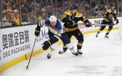 Bruins notebook: Blues refuse to let statistics bring them down – Boston.com