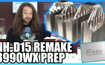 Noctua Threadripper 3 Prep: NH-D15 Remake & Passive Heatsink – Gamers Nexus