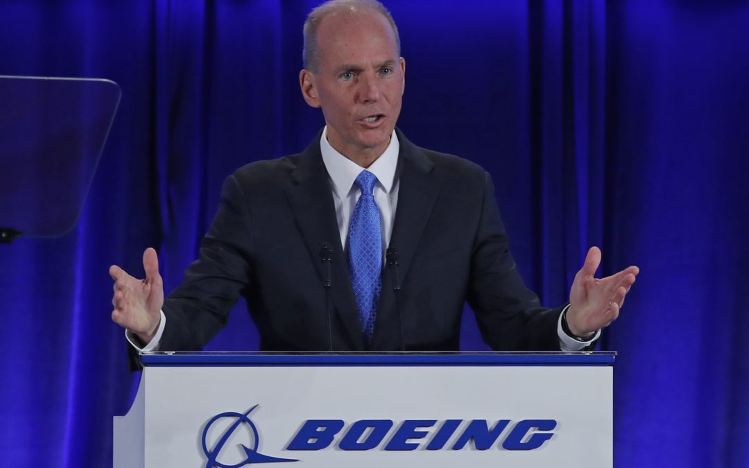 Boeing CEO says company is working to regain public trust following deadly 737 Max crashes – CNBC