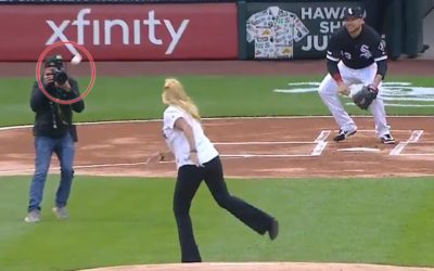Chicago White Sox staffer throws worst (or maybe best) first pitch ever – Fox News